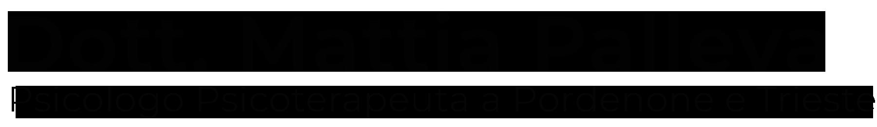 Mattia Palleva | Psicoterapeuta